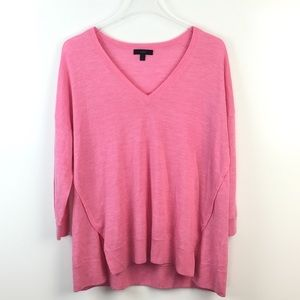 J. Crew Featherweight Merino Wool V-Neck Sweater